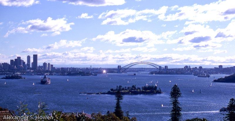 Sydney Harbour 1981