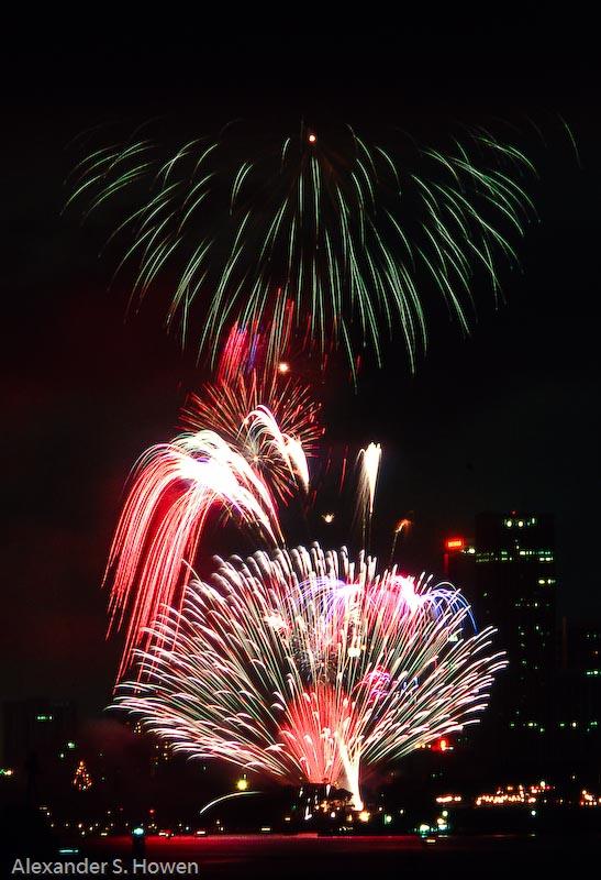 Harbour fireworks 2