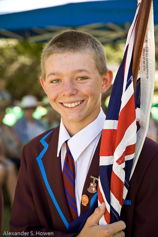 A proud young Australian