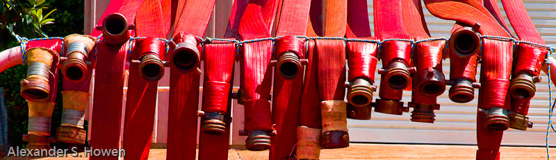 Firehoses at rest