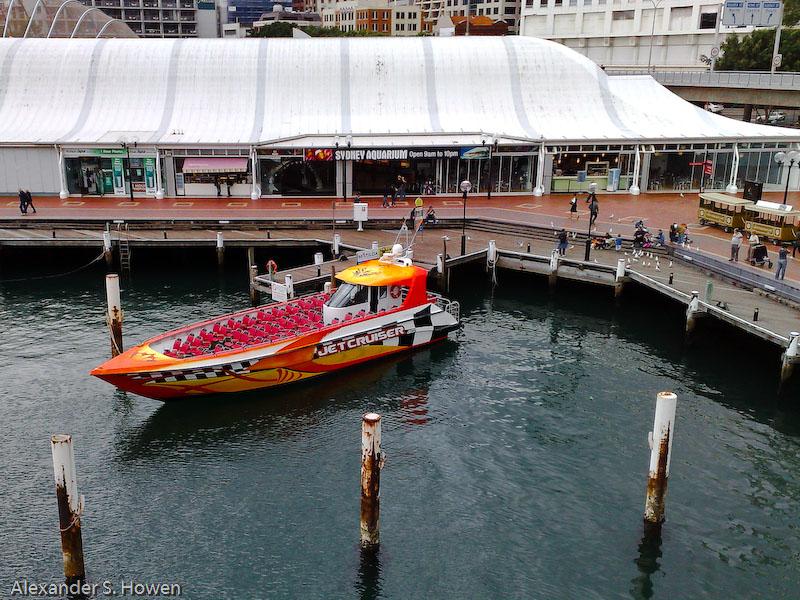 Jet boat colour
