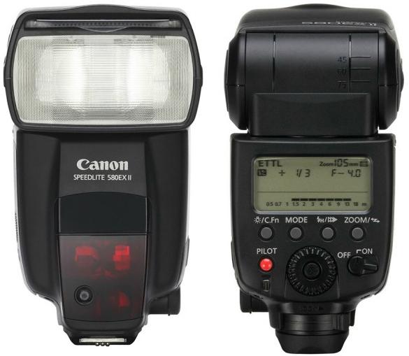 Canon 580 EX II Flash