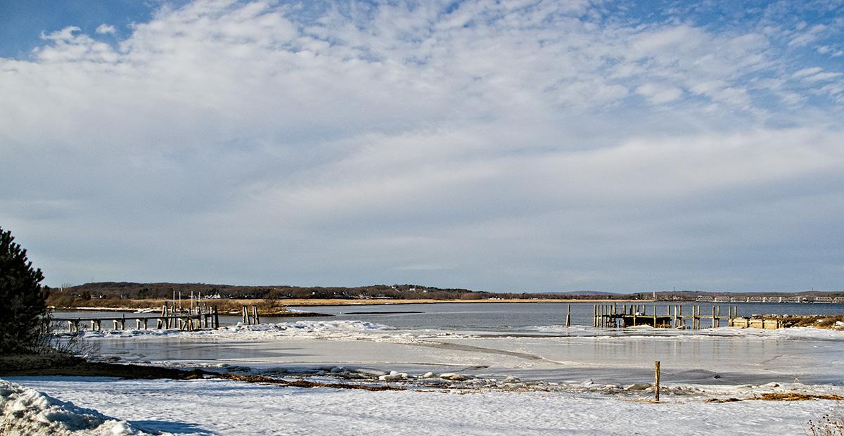 North Shore in winter