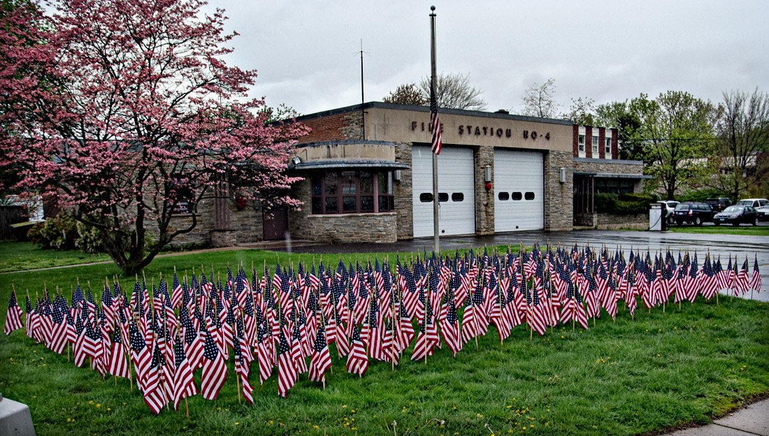 Firefighters Honor Firefighters Lost on 9/11