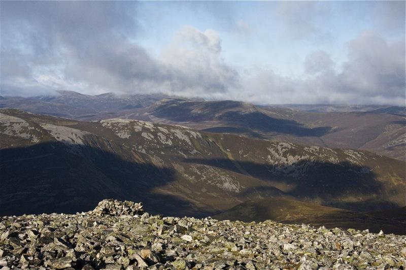 Cairn de Tuirc View