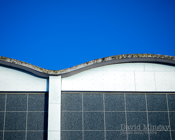 Feb 19: Blue sky and architecture