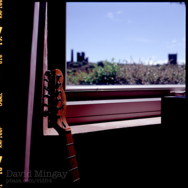 Guitar and Window