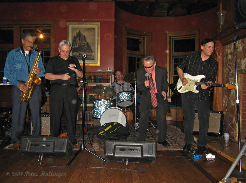 Mike Williams and the Green Space Blues Jam All-Stars