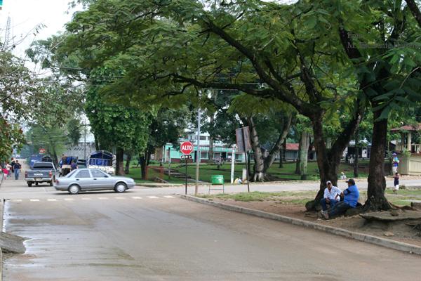 Calles del Area Urbana