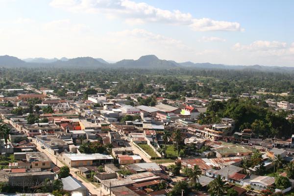 Vista Panoramica de la Cabecera Municipal