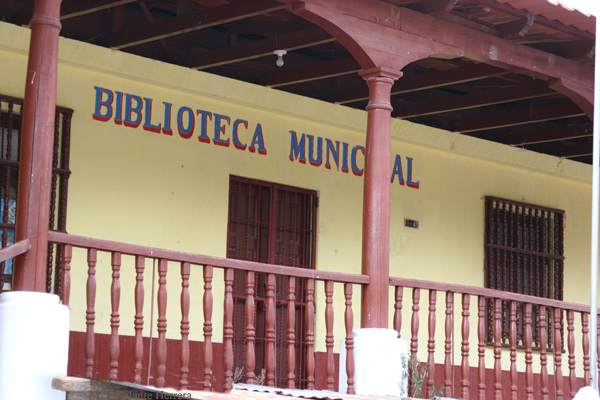 Edificio (antiguo) de la Biblioteca Municipal