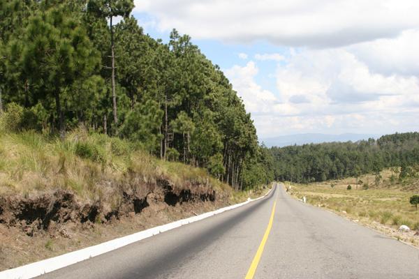 Vista de la Ruta Hacia la Cabecera