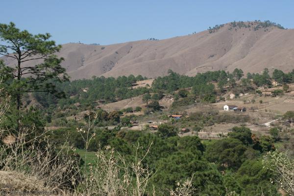 Vista Panoramica de Montañas del Municipio