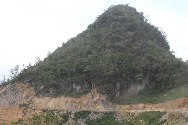 Carretera Desde la Aldea Teleman Hacia la Cabecera