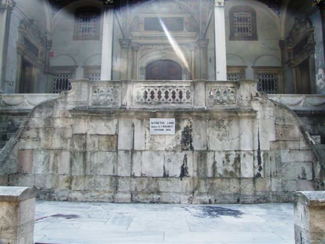 Buildings under restoration