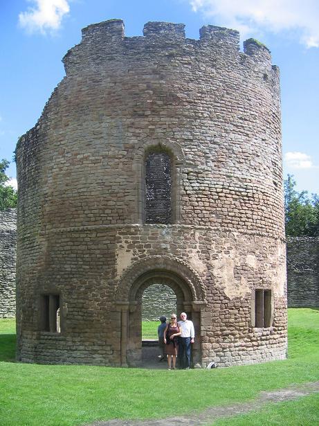 Ludlow Castle. Shropshire.