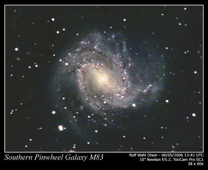 M83 - The Southern Pinwheel