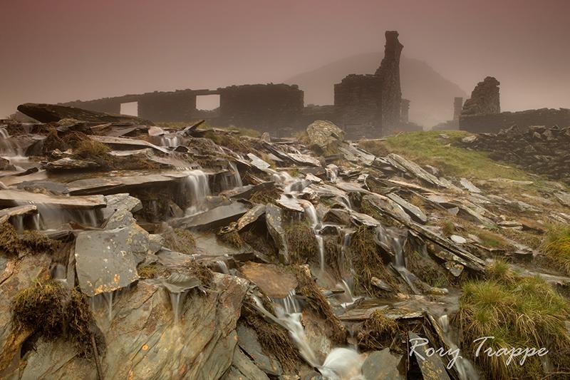 Rhosydd in the mist