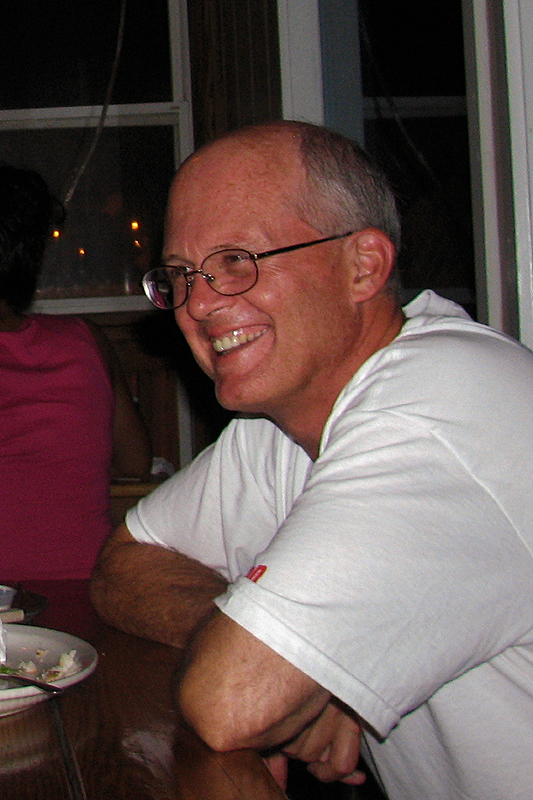 SNP John  at Crab Shack