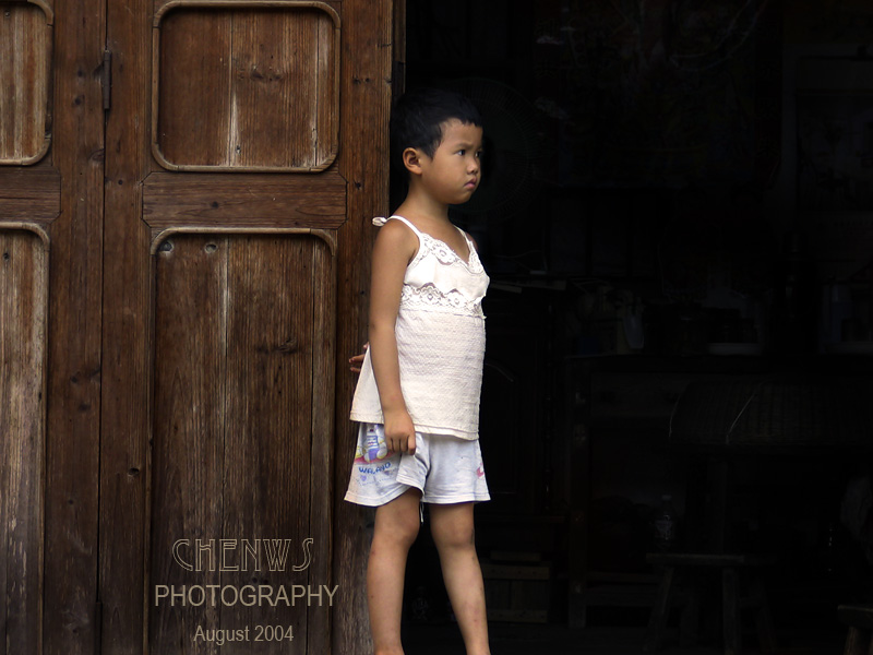 Young girl in Guilin, China