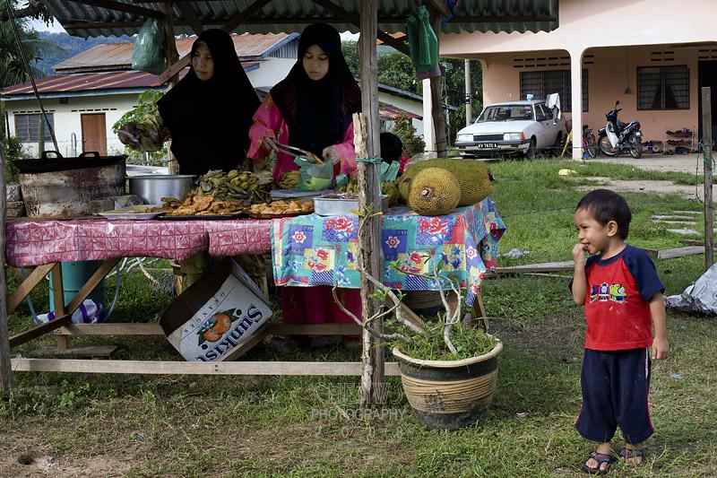 Roadside stall in Langkawi, Malaysia