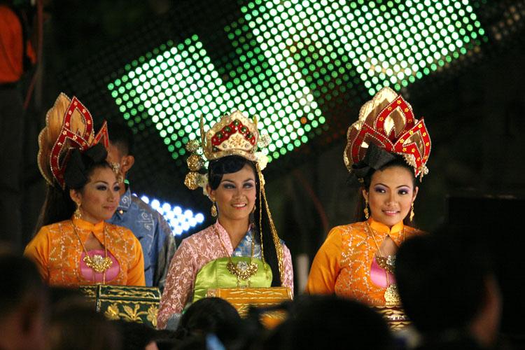 Traditional Malay dance