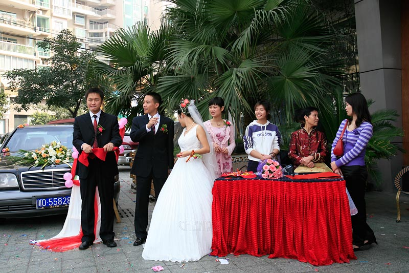 A Chengdu wedding, China