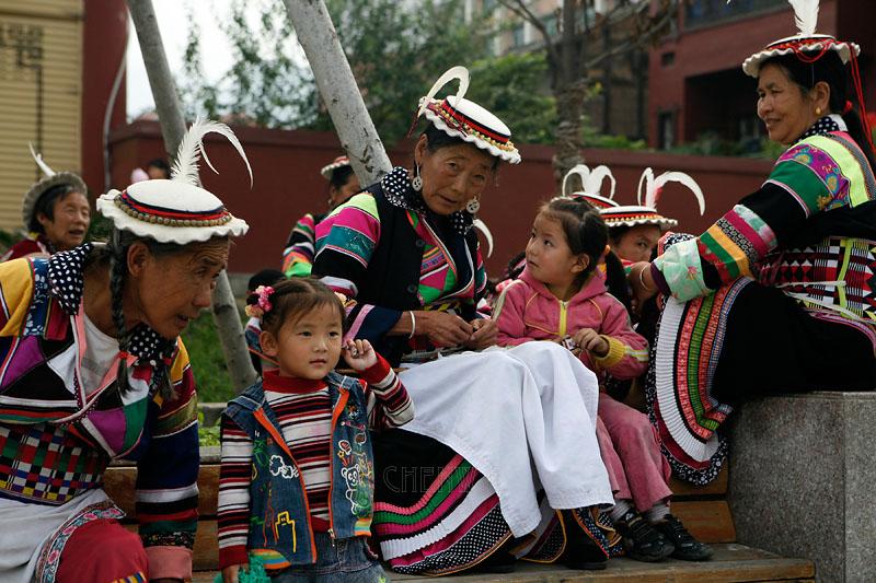 Tibetan minority, China