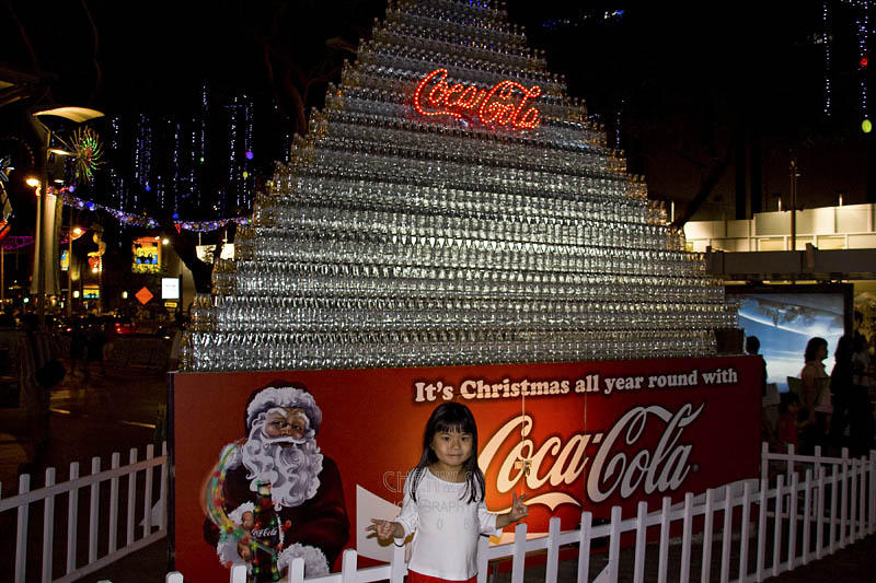 Coca Cola at Christmas