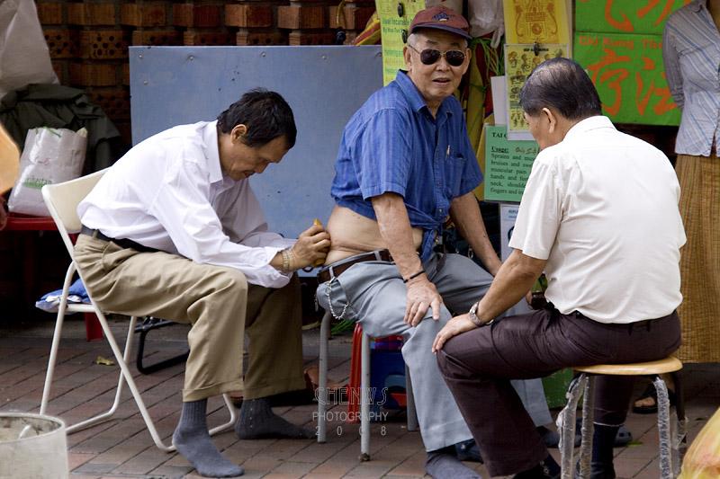 Street massage
