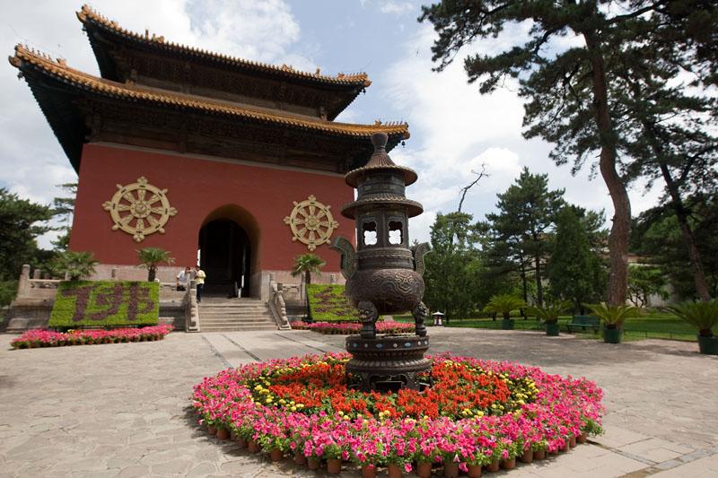 Entrance to the Little Potala Temple
