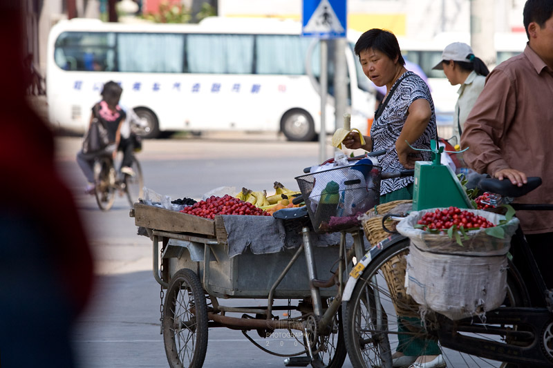 Local fruits sellers