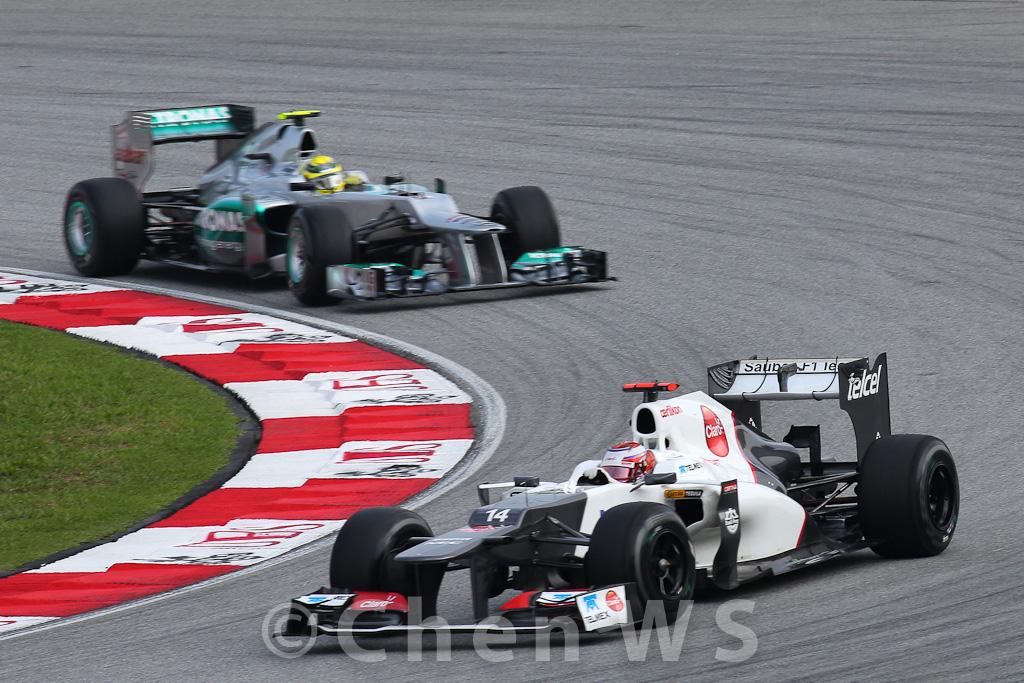 K. Kobayashi & N. Rosberg