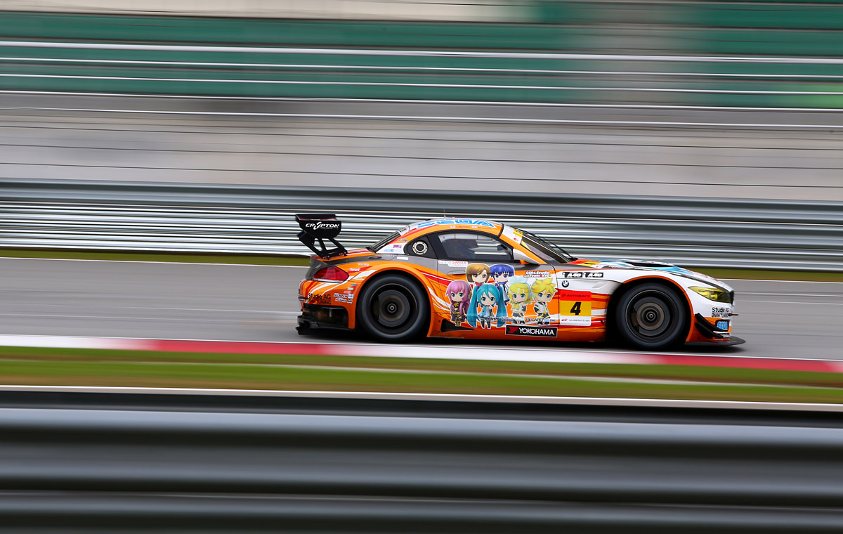GSR&Studie with TeamUKYOs GSR ProjectMirai BMW (Z4 Gt3)