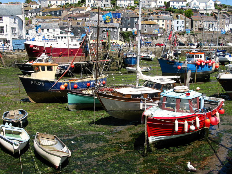 Very low tide @ Mevagissey, UK