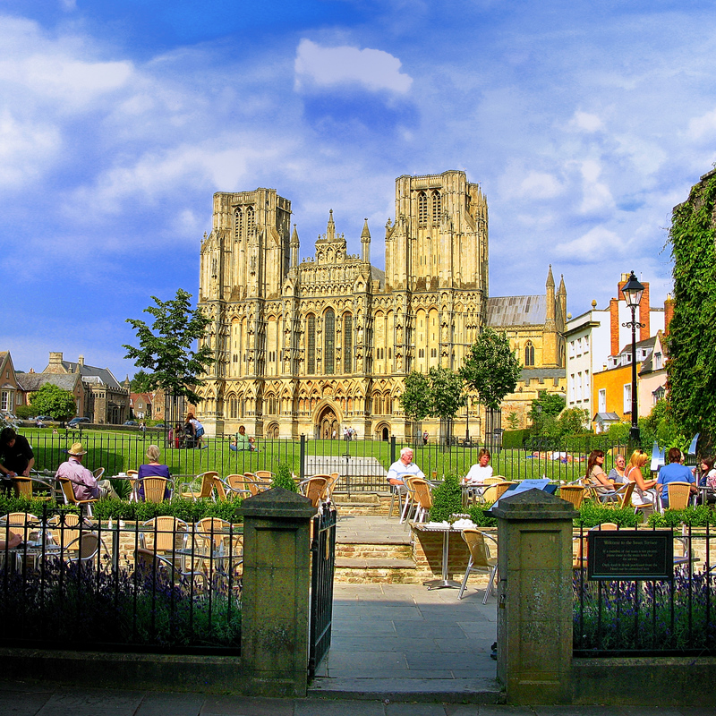 Wells Cathedral, Somerset, UK