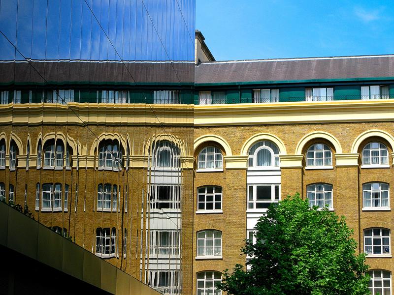 London reflection