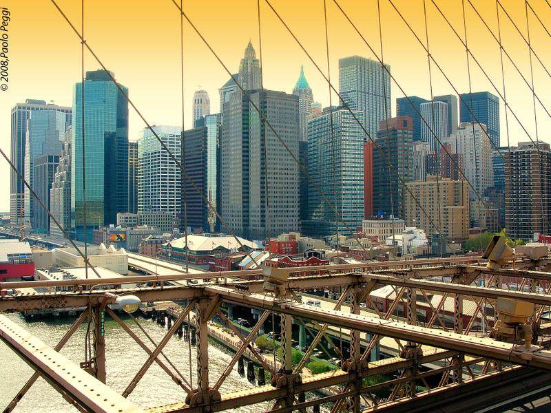 Manhattan, seen from Bridge