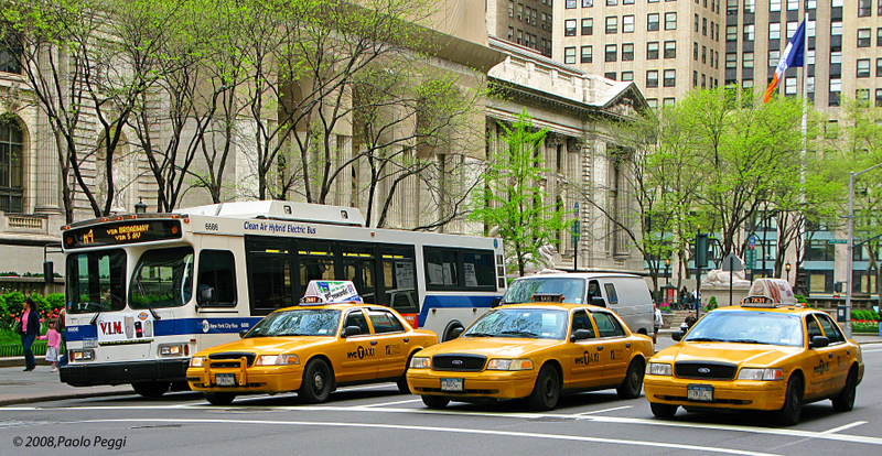 The public transport in NYC
