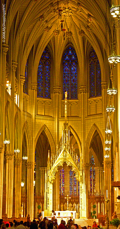 St Patricks Cathedral,internal