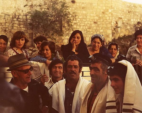 bamitza at western wall jerusalem