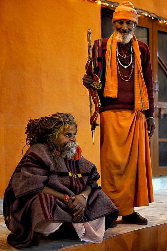 Guru and pupil