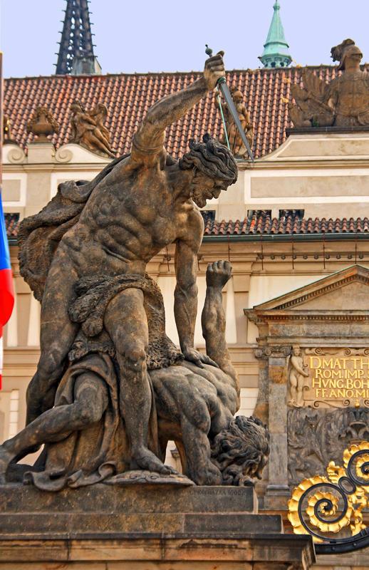 Gates of the Prague Castle