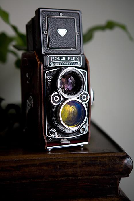 Rolleiflex 2.8F 1960