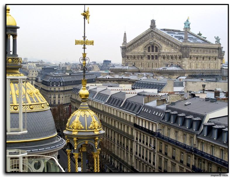 Atop Printemps ~ Paris