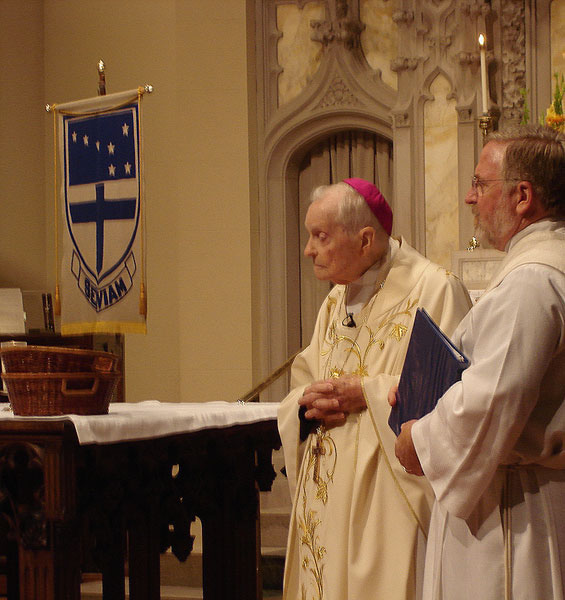 Archbishop Philip Hannan at age 95