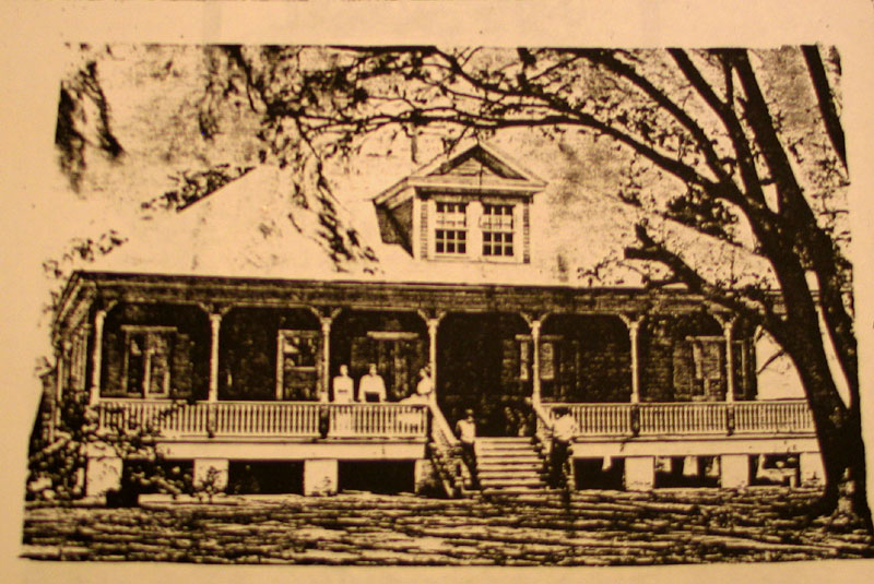 Kuglers Hermitage Plantation -  Destroyed to Build the Spillway