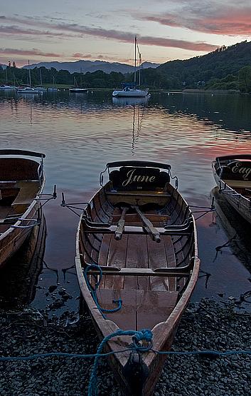 Rowboats At Lake Windermere