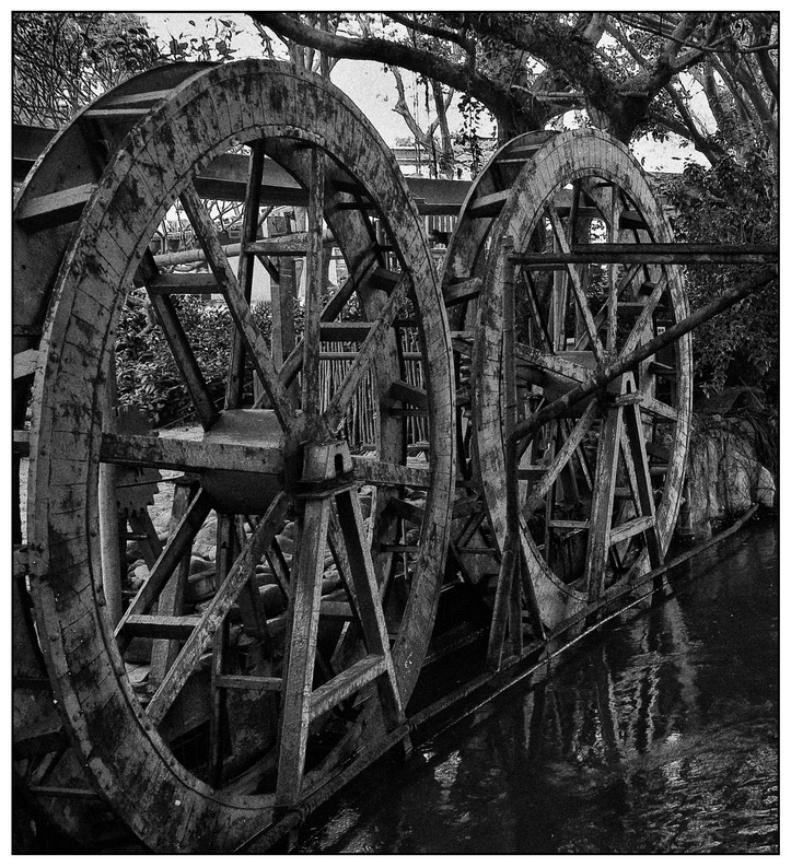China Water Wheel <br>By Ernest