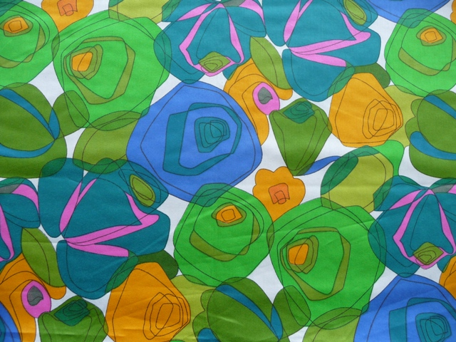 My fabric: cotton sateen